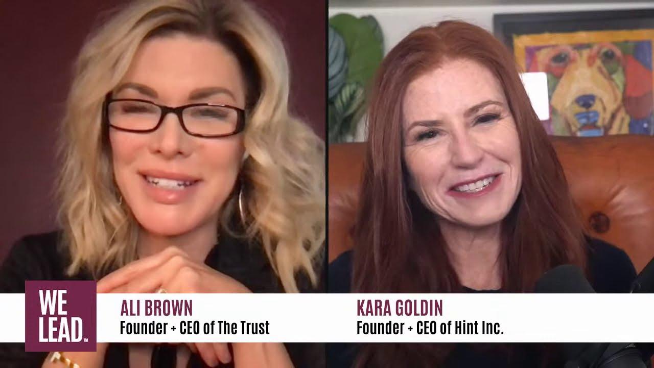Download We Lead LIVE: Season 3, Ep. 1 with Ali Brown + Kara Goldin