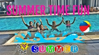 FUN POOL DAY with friends in LA Cali We Played Marco Polo