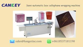 Video Semi-Automatic Perfume Box Cellophane Over Wrapping Machine @autopackm.com download MP3, 3GP, MP4, WEBM, AVI, FLV Juli 2018