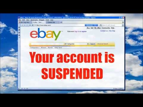 EBAY ACCOUNT SUSPENDED? Get Back On Easily And FAST!