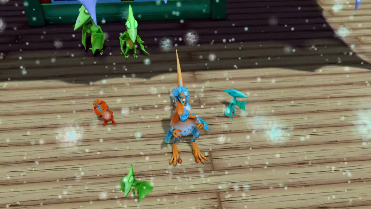 Dinosaurs in the Snow Song - Dinosaur Train - The Jim ...