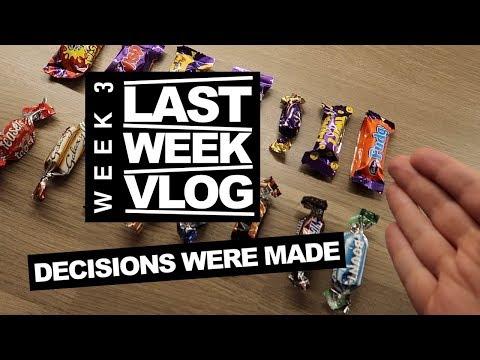 LAST WEEK Decisions Were Made