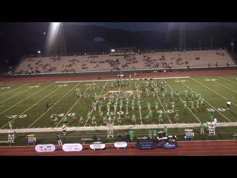 Rhea County High School Band Performs  8 22 19