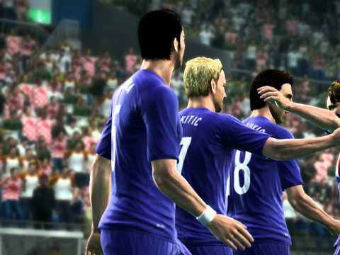 PES 2012 Ivan Rakitic - Croatia Nice Goal-Nice assist
