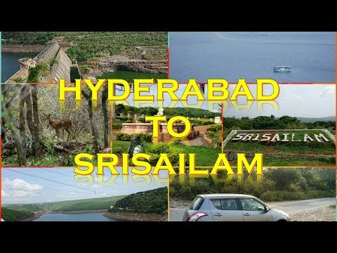 HYDERABAD TO SRISAILAM DAM | TIME LAPSE | NOV 2017 | ROAD TRIP IN CAR