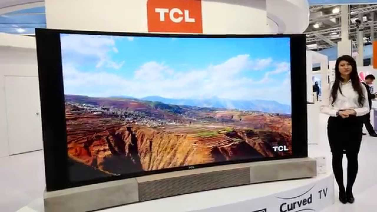 110 Inch Curved Tv By Tcl Eyes On 4k Youtube