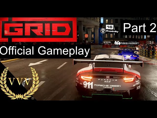 GRID - 2019 Gameplay Part 2 Shanghai Circuit
