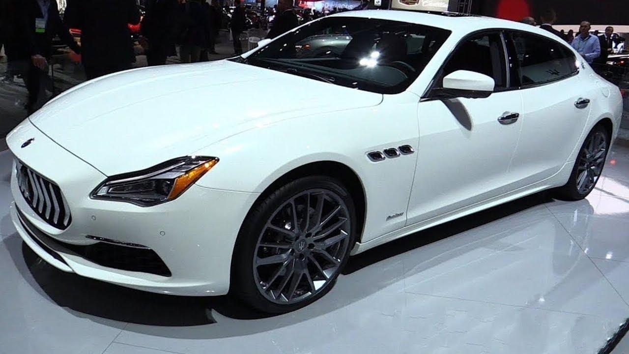 2019 Maserati Quattroporte Luxury Sedan Full Review Youtube