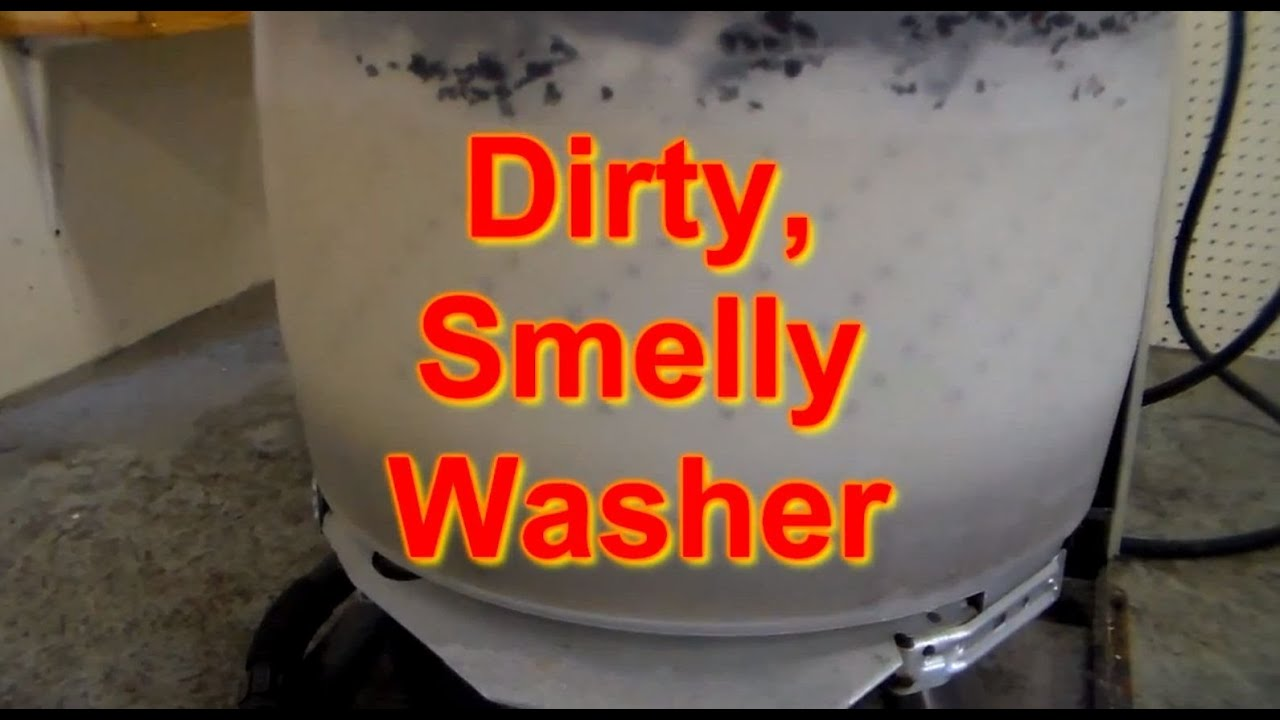 Why Does Your Washing Machine Smell Washer Smells Youtube