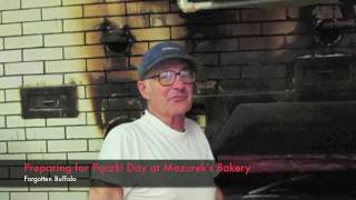 Preparing For Pączki Day At Mazurek's Bakery, Buffalo, New York
