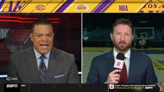 Dave McMenamin FRUSTRATED: Lakers fall back in playoff race with loss to Clipper | SportsCenter