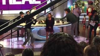 Adrienne Bailon sings 3LW's 'No More' on The Real Daytime