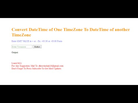 C get datetime for timezone