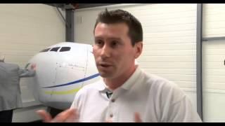 Un simulateur de vol à Guyancourt