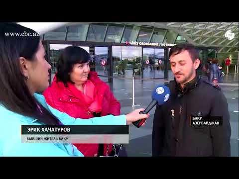 Бакинские армяне вновь приехали в столицу Азербайджана