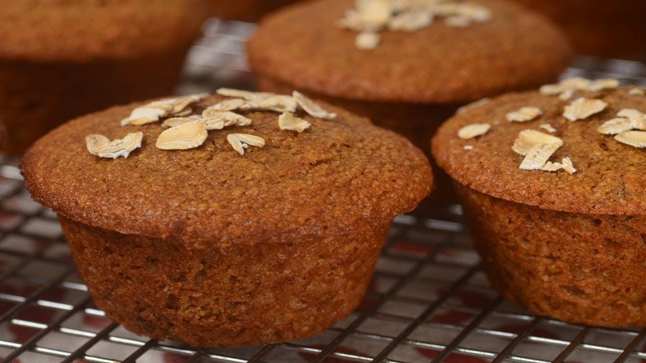 Oat Bran Muffins Recipe Demonstration - Joyofbaking com