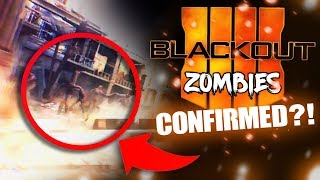New ZOMBIES EASTER EGG in Call of Duty: Blackout!?