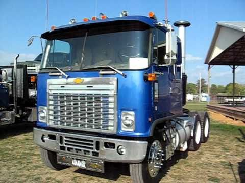 CHEVY TITAN CABOVER - YouTube