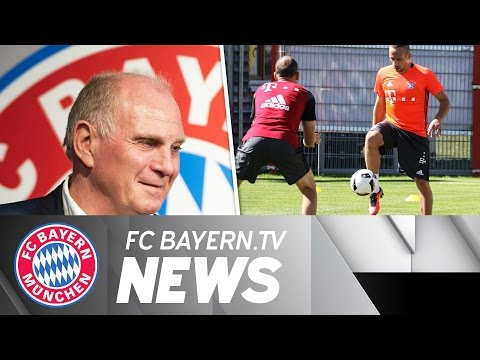 Uli Hoeneß announces candidacy, Supercup preparations
