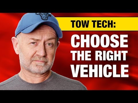 How to choose the right vehicle for heavy towing | Auto Expert John Cadogan