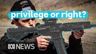 Why US gun laws will never look like Australia's | ABC News
