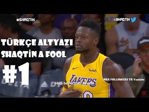 Türkçe Altyazı Shaqtin A Fool - NBA En Komik Anlar - Bölüm 1