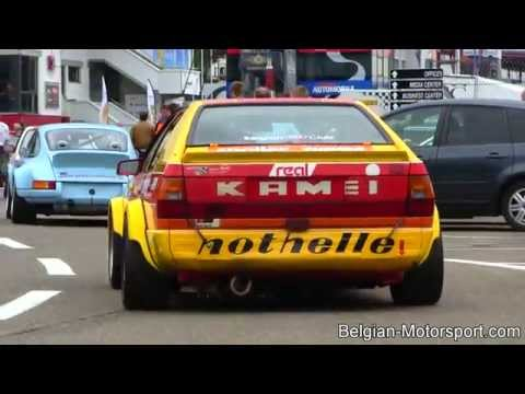 Audi 80 Kamei coupé 2nd race of 2014 at Zolder (with André Lotterer)