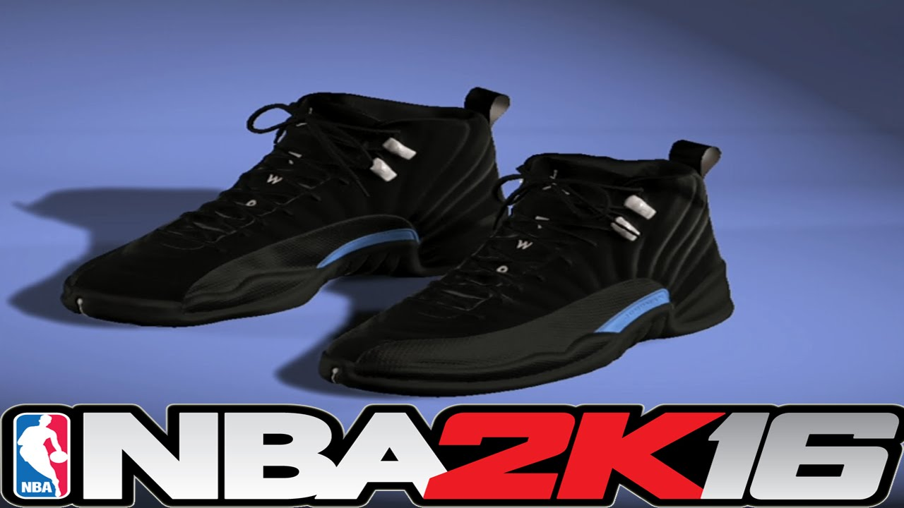 NBA 2K16 Shoe Creator - Jordan 12 Nubuck ⋆#NBA2K16⋆