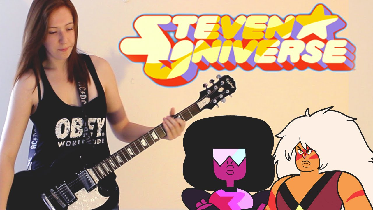 Stronger than You: Steven Universe - METAL GUITAR COVER **WITH TABS** : Hithcocklike