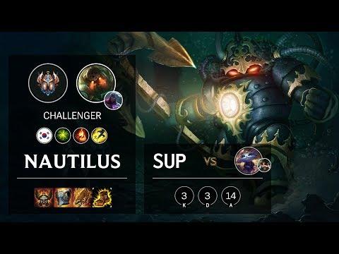 Nautilus Support vs Yuumi - KR Challenger Patch 10.4