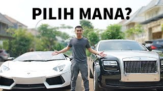 Video LAMBORGHINI VS ROLLS-ROYCE! (FEAT. RAFFI AHMAD) download MP3, 3GP, MP4, WEBM, AVI, FLV Agustus 2017