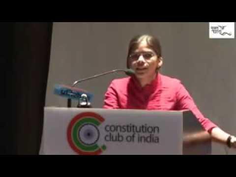 Richa Singh Allahabad University President at Pratirodh 2 on April 8, 2016