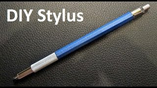 How To Make Homemade Stylus | Touch Pen For Your Tablet Or Your Mobile | Android or IOS