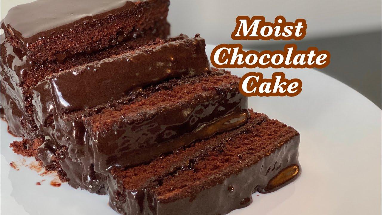 How to make moist chocolate cake|| Chocolate cake recipe ...