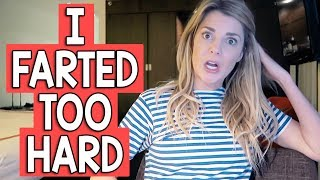 I FARTED TOO HARD // Grace Helbig