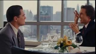 El lobo de Wall Street - Escena del restaurante (español latino)