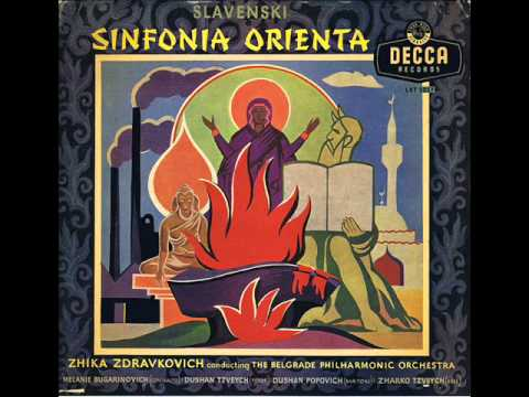 J. Slavenski - Symphony of the Orient (full)