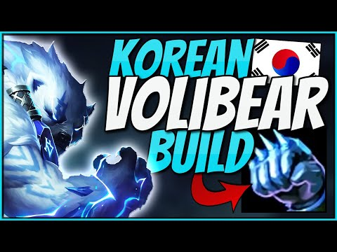 This NEW KOREAN Build Made Volibear´s Win-Ratio Go Up To 52%!! | Korean Volibear Build Try Out