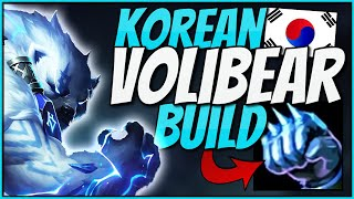 This NEW KOREAN Build Made Volibear´s Win-Ratio Go Up To 52%!!   Korean Volibear Build Try Out