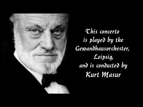 MAX BRUCH - Violin Concerto No. 3 in D Minor, Op. 58 - Masur/Salvatore Accardo/Gewandhausorchester