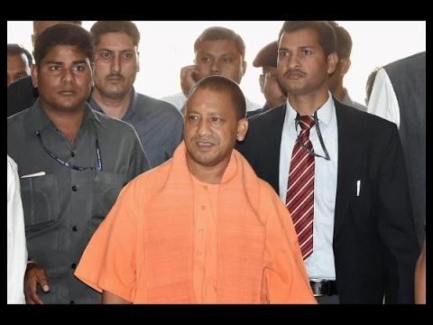 Yogi Adityanath in action, makes surprise visit to Hazratganj police station in Lucknow