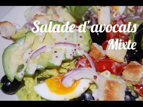 recette-salade-d'avocats-mixte