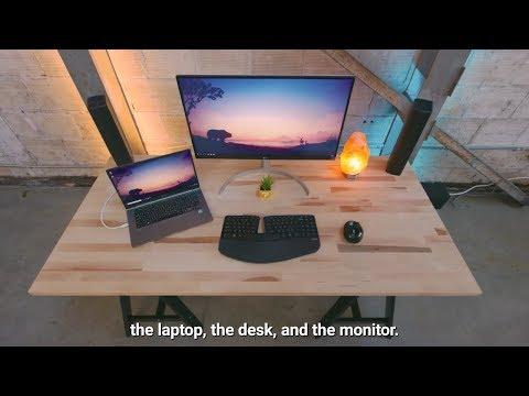 the-perfect-minimal-laptop-desk-setup-2018-#hd
