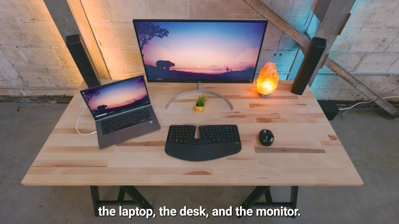 - The Perfect Minimal Laptop Desk Setup 2018 #HD - YouTube