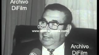 DiFilm - Alberto J. Armando contesta a los que piden su renuncia 1973