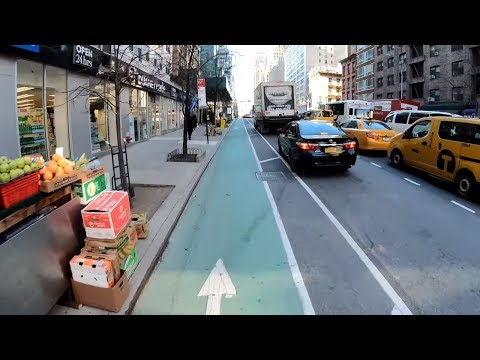 ⁴ᴷ⁶⁰-cycling-nyc-:-midtown-manhattan-via-2nd-avenue-from-59th-street-to-14th-street