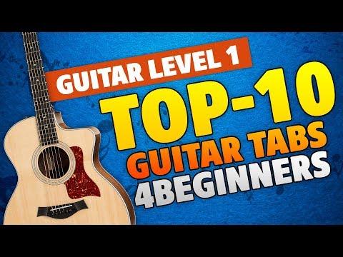 10-easy-guitar-tabs-for-beginners-(guitar-level-1-tutorial)