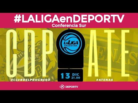 #LALIGAenDEPORTV - Del Progreso vs Atenas de Patagones - Conferencia Sur - Liga Argentina de Básquet