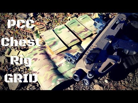 My Urban Load Out: PCC Chest Rig GRID Beez Combat Systems