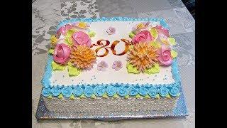 Оформление тортика БЗК.(учимся вместе)